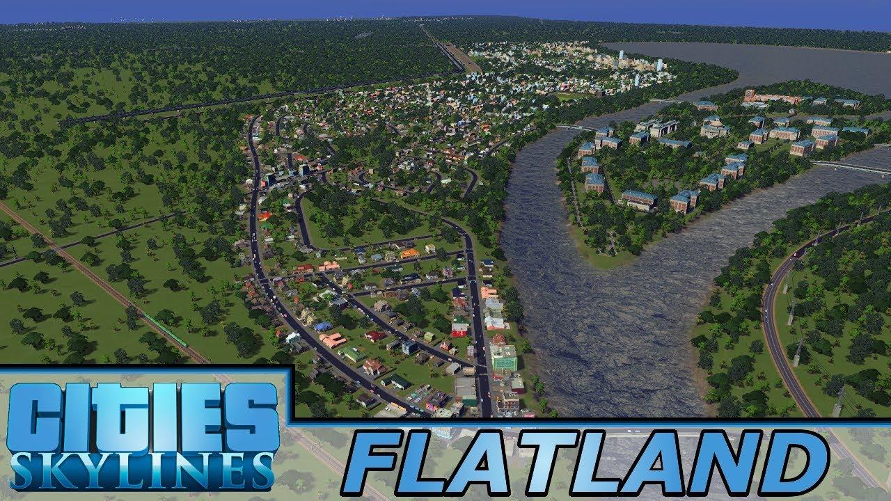[64] Massive Suburbs For Craterton | Flatland - Cities: Skylines