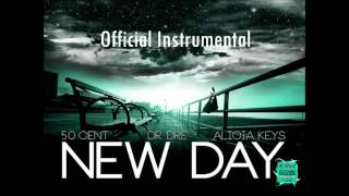 50 Cent ft. Dr. Dre & Alicia Keys - New Day [Prod. by Dr. Dre & Eminem] (Official Real Instrumental)