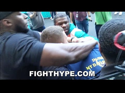 FLOYD-MAYWEATHER-BRAWL-ERUPTS-WITH-JAKE-PAUL-ALL-HELL-BREAKS-LOOSE-AS-TEAMS-COME-TO-BLOWS