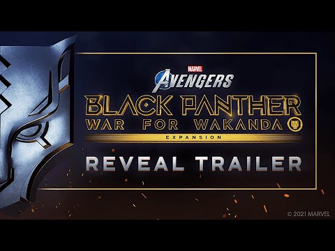Marvel's Avengers | Black Panther Reveal Trailer