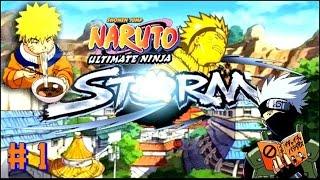 Naruto Ultimate Ninja Storm GAMEPLAY PART 1