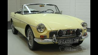 MG B cabriolet 1968-VIDEO- www.ERclassics.com