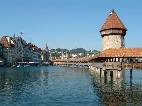FOOTLOOSE IN SWITZERLAND DVD - Lauterbrunnen & Lucerne - travel guide video