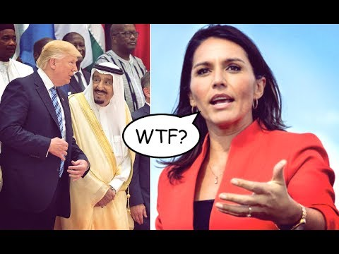 Tulsi Gabbard Calls Out Trump