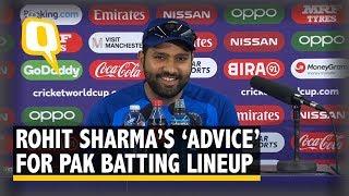 "India vs Pakistan | Journo Asks Rohit for Batting Tips, He Says ""I"