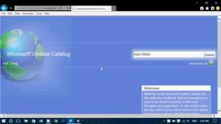 Fixit Windows update problems How to download updates manually using the Microsoft Update Catalog