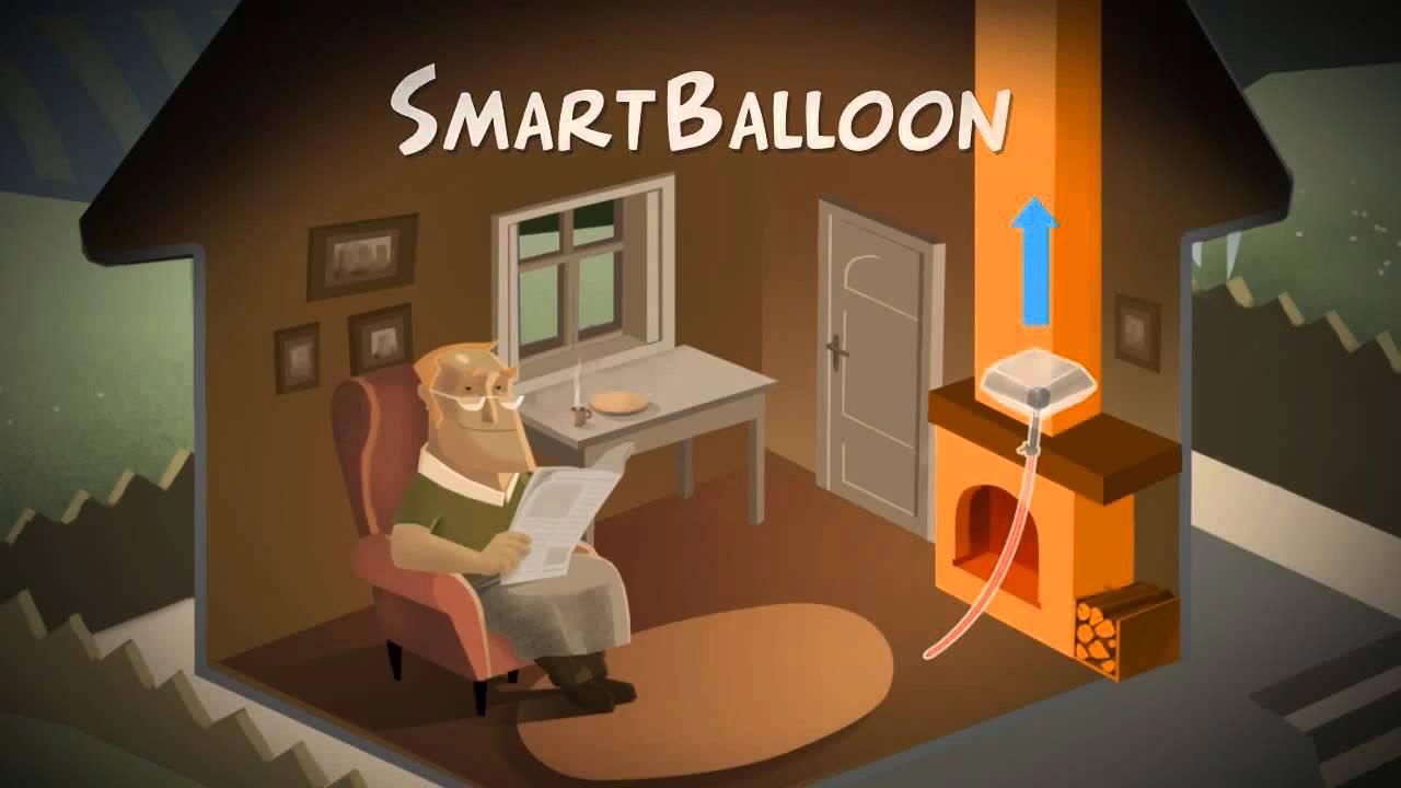 smartballoon chimney flue balloon www thermshop com youtube