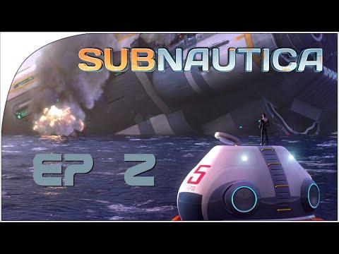 SubNautica EP 2 - Exploring the ocean floor!
