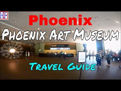 Phoenix, AZ | Phoenix Art Museum (TRAVEL GUIDE) | Episode# 8