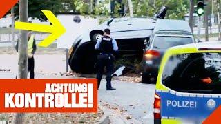 Abschlepp-Aktion XXL: Schwer demoliertes Auto wird abgeschleppt | Achtung Kontrolle | Kabel Eins