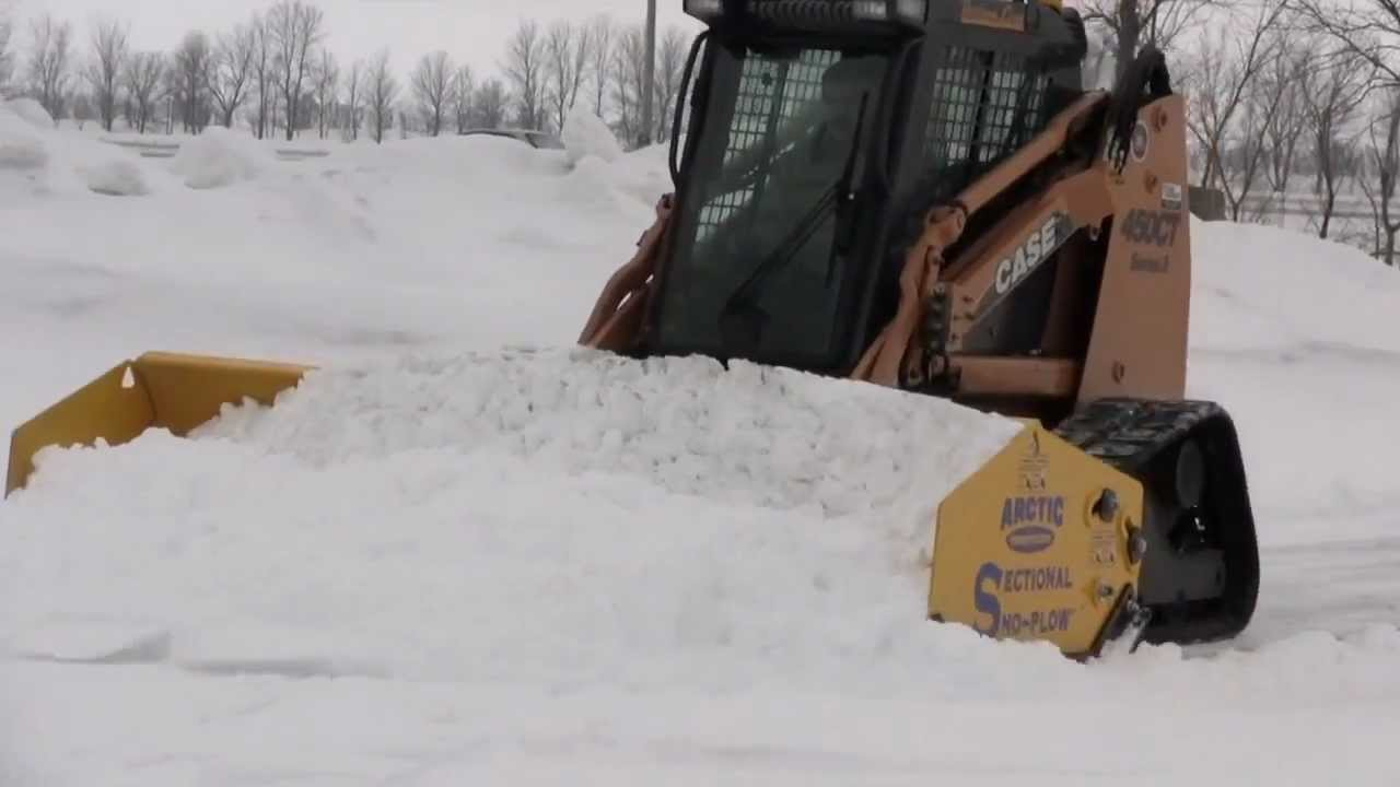 Arctic Sectional Sno Pusher™ -- How To Video : sectional snow pushers - Sectionals, Sofas & Couches