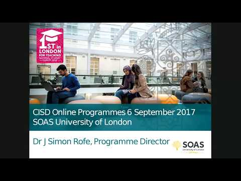 International Studies and Diplomacy - Online info session