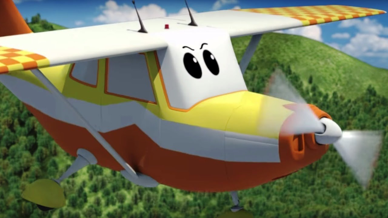 Airplanes/Cars for kids - The Airport Diary - Winky goes ...