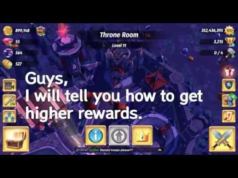 Royal Revolt 2 - How To Get Higher Rewards