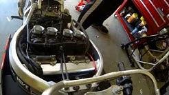 99 Honda CBR 900rr carburetor removal and air/fuel adjustment