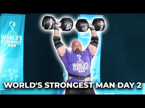 WSM DAY 2 QUALIFIERS LOADING & DUMBBELL | EDDIE HALL