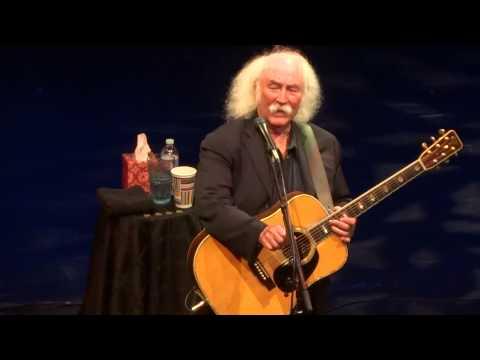"""Laughing & Déjà Vu"" David Crosby@Whitaker Center Harrisburg, PA 6/23/15 Acoustic Tour"