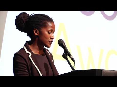 Bahni Turpin reads for Colson Whitehead at the 2016 National Book Awards Finalists Reading