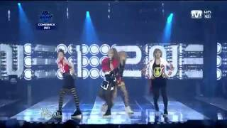 "2NE1 -- ""I Am The Best"" Mnet M! Countdown  live"