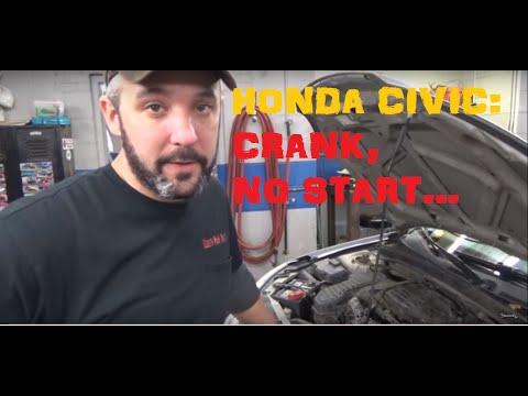 Honda Civic 1.7 - Crank No Start