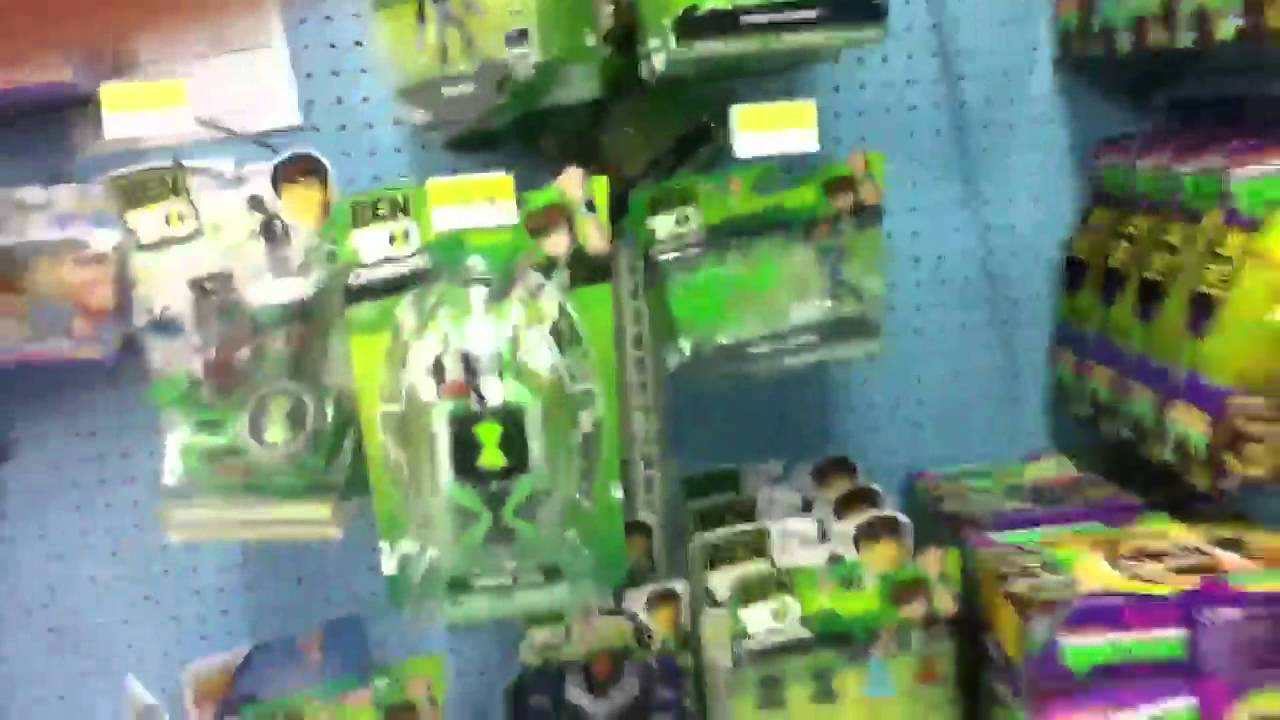 Walmart Toys For 10 And Up : Ben omniverse toys at walmart youtube