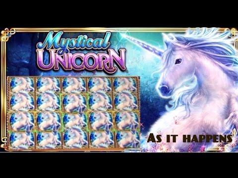 MYSTICAL UNICORN Slot machine AMAZING BONUS WIN (Full screen #14)