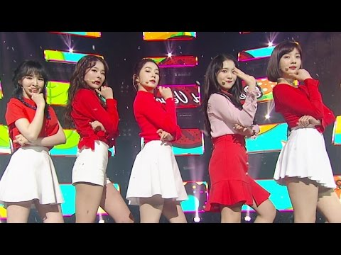 《EXCITING》 Red Velvet (레드벨벳) - Rookie @인기가요 Inkigayo 20170226