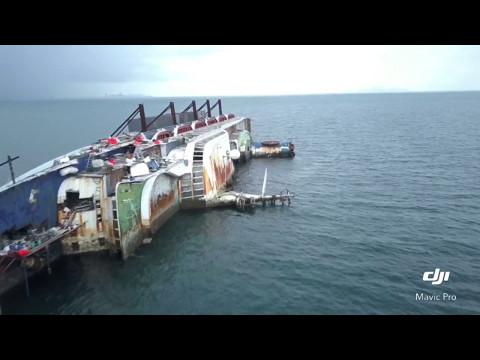 Ocean Dream Cruise Shipwreck - DJI Mavic Pro