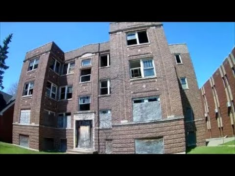 UrbEx Gary, Indiana - The Linden Apts - Glen Park's Dangerou