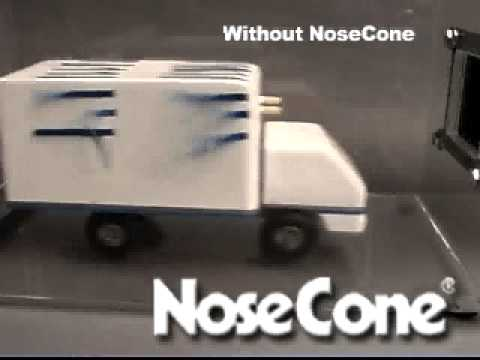 Nose Cone Truck Aerodynamics Youtube