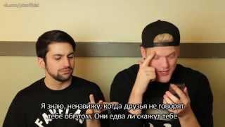 SLEEPING NAKED (Q&A) (русские субтитры)