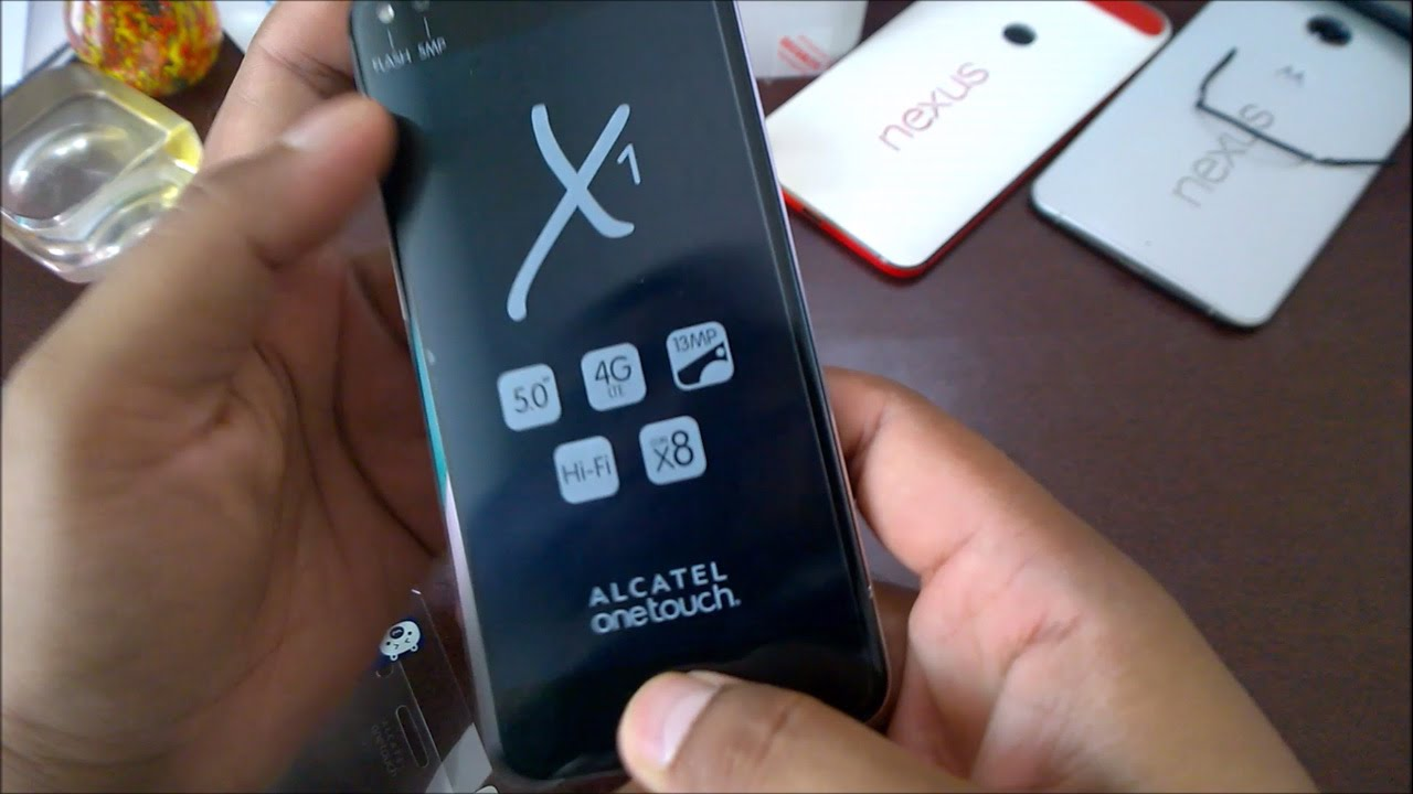Alcatel One Touch X1 7053D (Eye-Biometric System) Review - Unboxing, First  Impression, Hands On