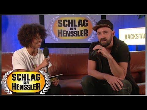 Schlag den Henssler - Backstage Interview mit Gentleman - YouTube