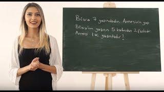 İşaret Dili ile Çarpma İşlemi Problemleri #8   Anlatan Eller