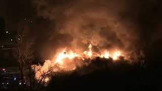 2017-01-07 Пожар в Москве. Гостиница Тико. Ярославское ш 55/1