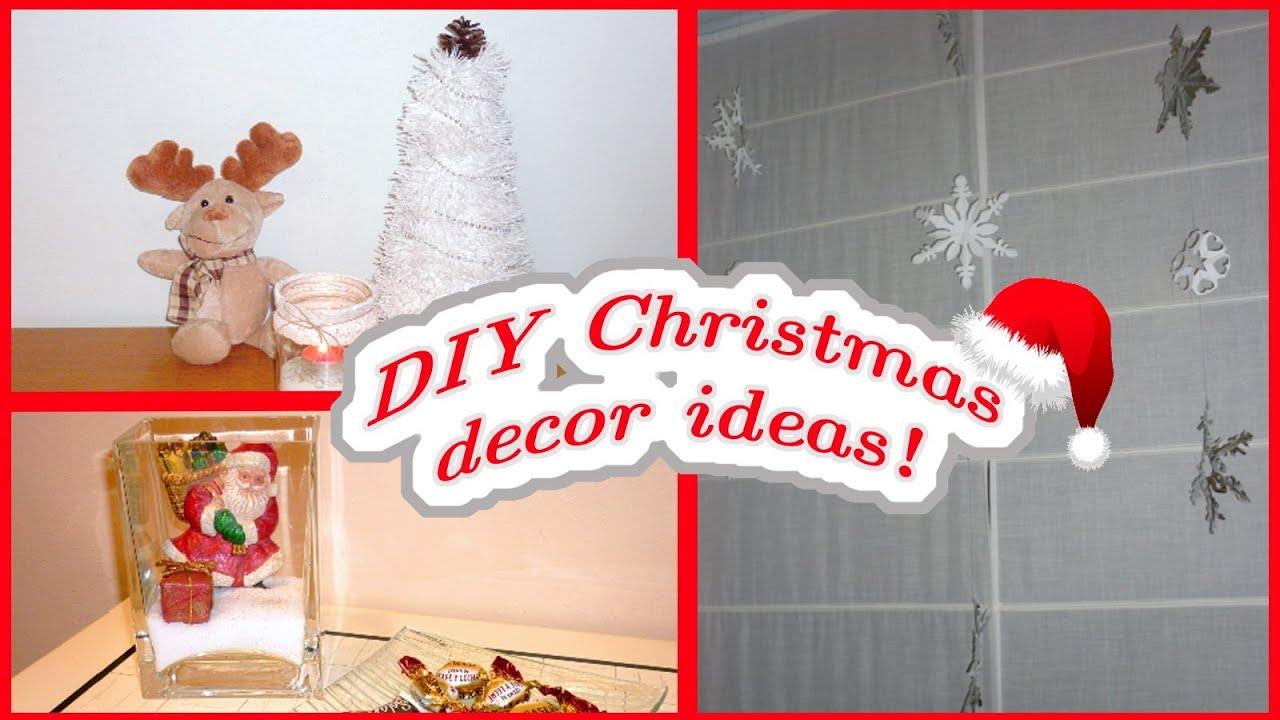 DIY CHRISTMAS DECOR- Easy & Affordable Ideas!