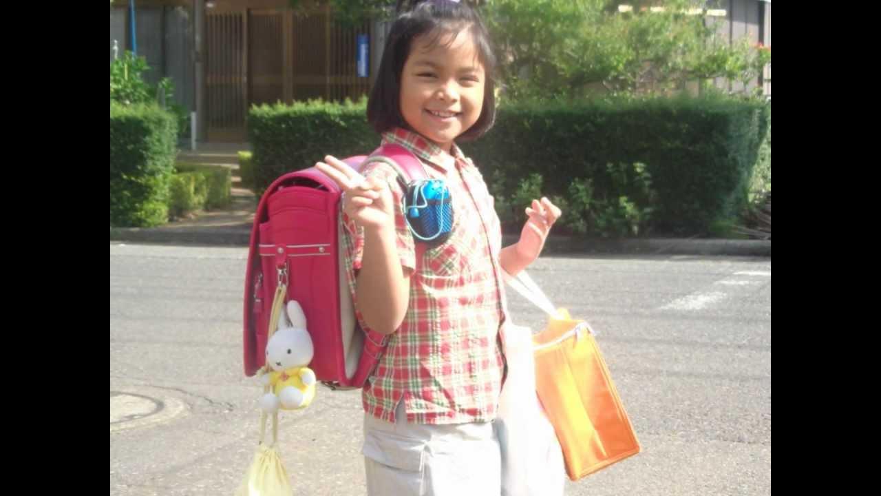 Najla Desvaa pergi ke sekolah SD Jepang - YouTube