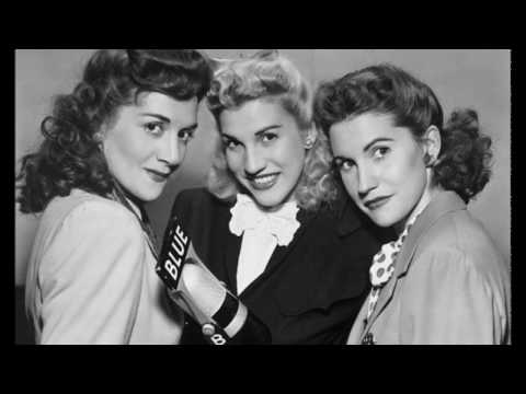 The Andrews Sisters, Swam Over The Dam [HQ]