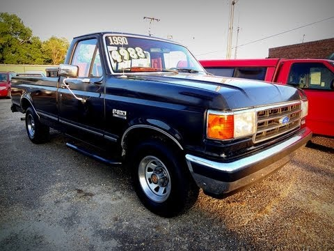 1990 ford f 150 xlt lariat regular cab 5008 6 youtube. Black Bedroom Furniture Sets. Home Design Ideas