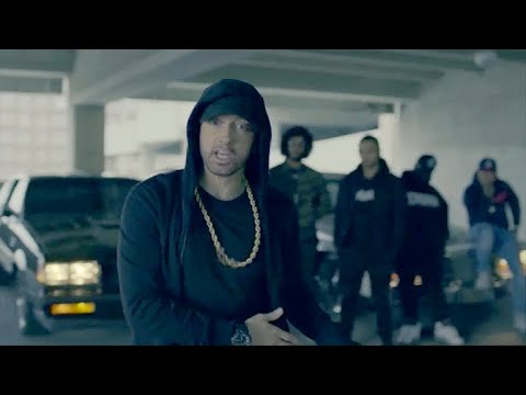 Eminem rips President Trump, his supporters in freestyle rap