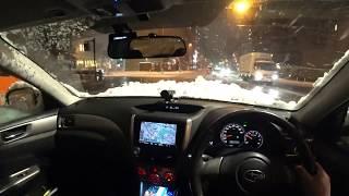 2018年1月22日の大雪 「ICETEC NEO KR36」KENDAスタッドレス3シーズン目...