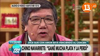 """El """"milagro"""" que experimenta Chino Navarrete   Bienvenidos"""