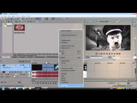 How to add the slow motion effect in Sony Vegas - Quora