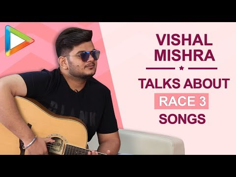 Vishal Mishra exclusively talks about I Found Love from Race 3 sung and written by Salman