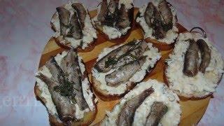 Бутерброды со шпротами / Рецепты от MrDedich
