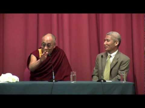 Dalai Lama at the University of Westminster