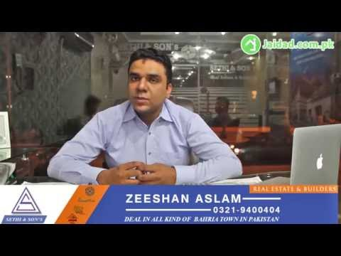 Why, when and where to invest in Bahria Town, Expert Advice by Zeeshan Aslam CEO Sethi Sons
