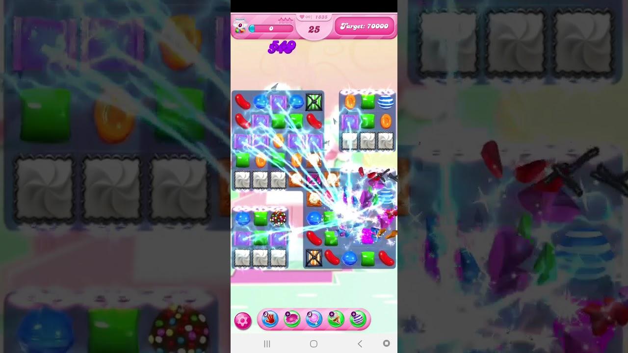 เกม Candy Crush 1835