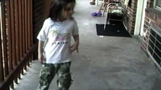 6 year old dances to freek a leek by petey pablo