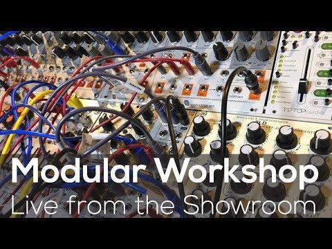 Modular Workshop - Live @ Analogue Zone Showroom E06
